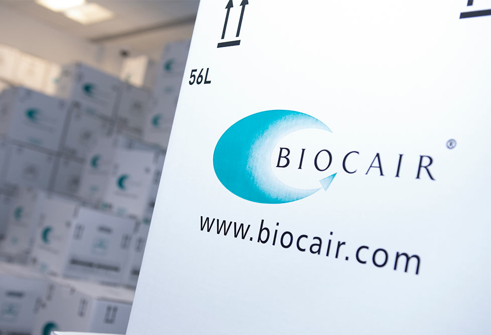 Biocair pharmaceutical shipping