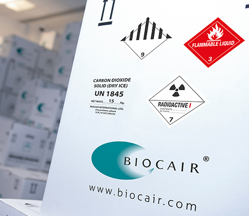 Biocair regulatory compliance packaging