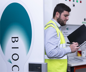 About us page Biocair warehouse
